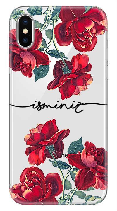 Güller Desenli Cep Telefonu Kılıfı