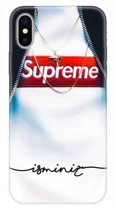 Supreme1 Desenli Cep Telefonu Kılıfı
