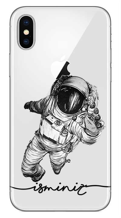 Uzay 2 Desenli Cep Telefonu Kılıfı