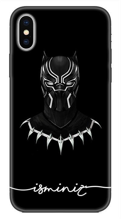Siyah 7 Desenli Cep Telefonu Kılıfı