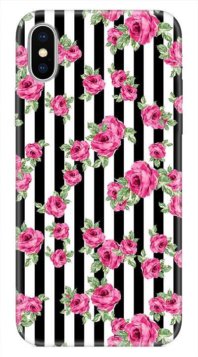 Çiçekdesen Desenli Cep Telefonu Kılıfı