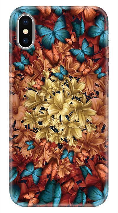 Çiçek D3 Desenli Cep Telefonu Kılıfı