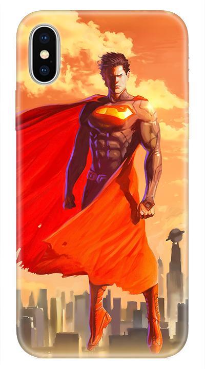 Superman 6 Desenli Cep Telefonu Kılıfı