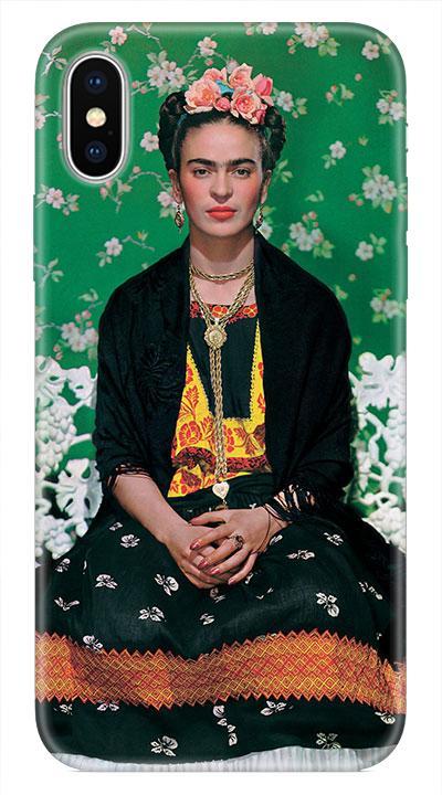 Frida Desenli Cep Telefonu Kılıfı