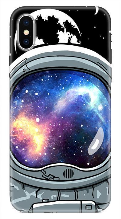 Uzay 1 Desenli Cep Telefonu Kılıfı