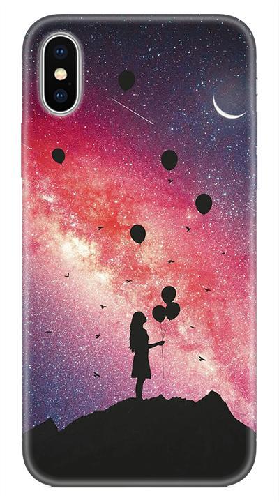 Galaxykız Desenli Cep Telefonu Kılıfı